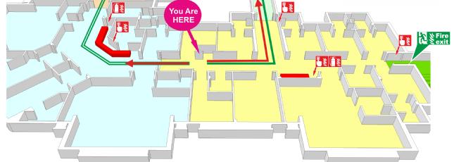 Building Emergency Exit Plan